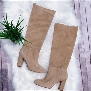 Sam Edelman Knee High suede Boots Size 8 $225